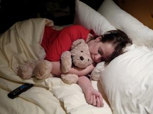Sleeping in Las Vegas